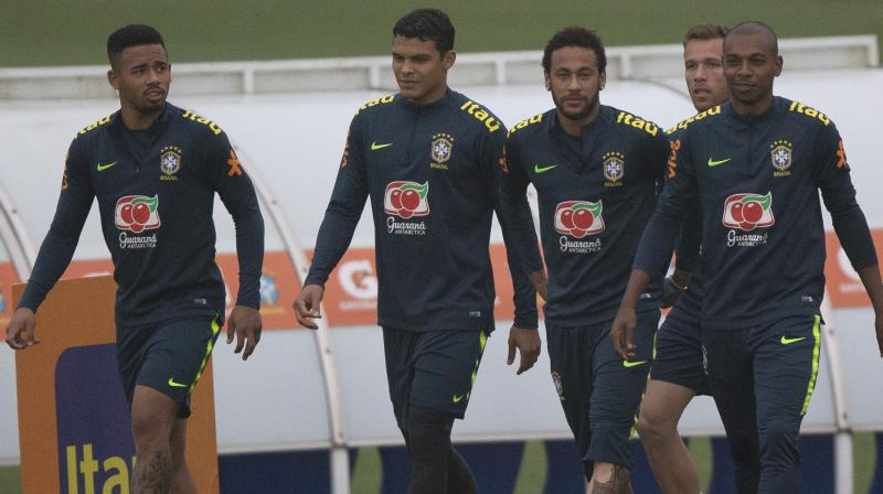 Brazil is preparing for the Copa America, a tournament played by South America's 10 national teams plus Japan and Qatar which kicks off on June 14. (Photo :AP)