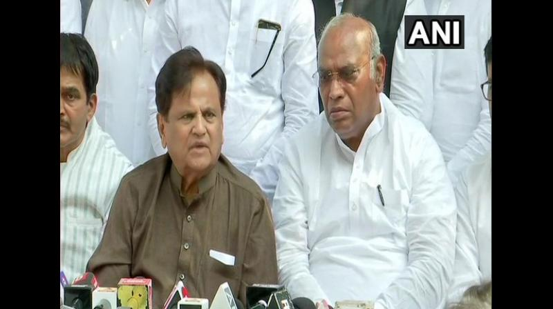 'Today was a black spot in the history of Maharashtra. Everything was done in a hushed manner and early morning. Something is wrong somewhere. Nothing can be more shameful than this,' Patel said. (Photo: ANI)