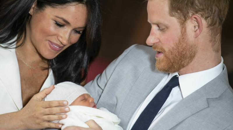 Archie Mountbatten-Windsor was born on 6 May 2019 in the private Portland Hospital in London. (Photo: Instagram @sussexroyal)