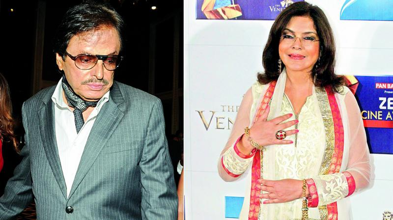 Sanjay Khan, a father of four, and Zeenat Aman were in a serious relationship from 1977 to 1980.