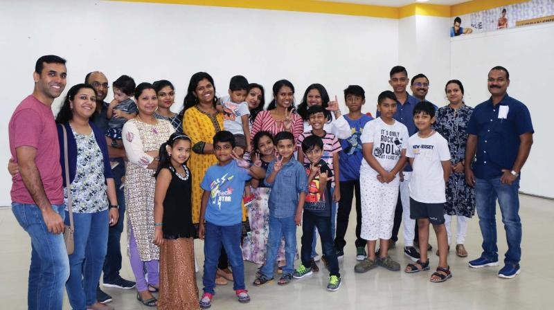 When the little theatre artists performed the play at Bhavan's School, Elamakkara, last month, they took the stage by storm.
