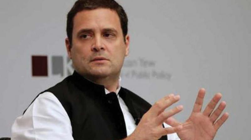 The Congress president had earlier attacked the prime minister over the condition of farmers, alleging that on one hand Modi is not waiving their loans and on the other he is giving a 'license of loot' to his 'suit-boot friends'. (Photo: File)