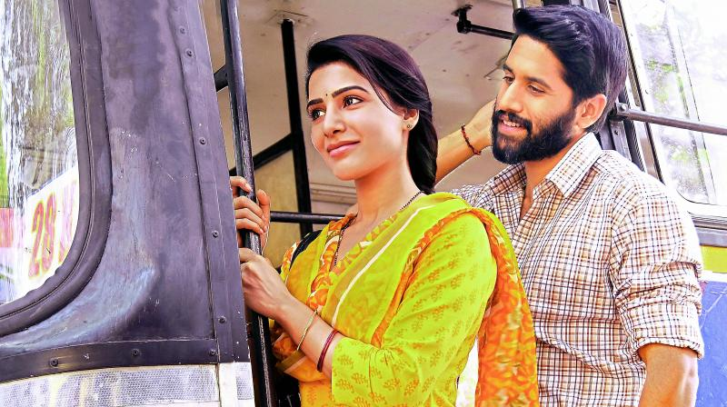 A still from the teaser of the movie Majili.