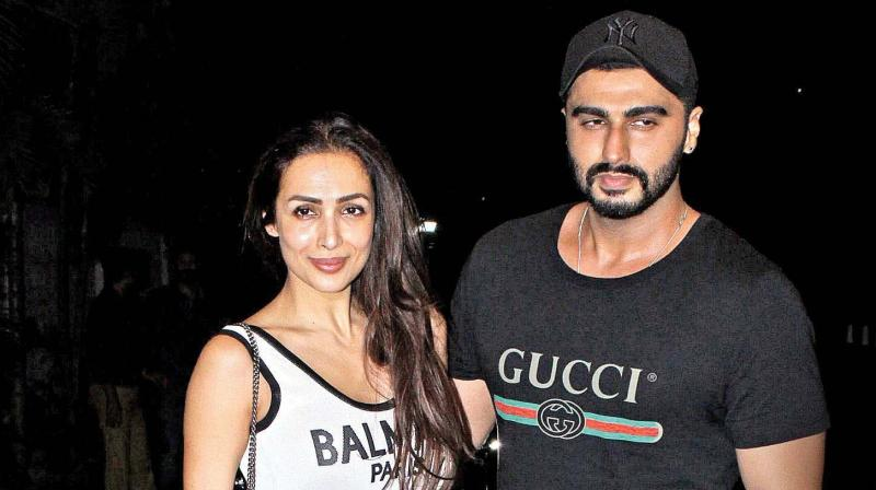 Arjun Kapoor and Malaika Arora. (Photo: Viral Bhayani)