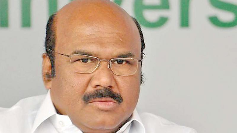 'For sure, they would have won if I had played. Get me a chance,' Fisheries minister Jayakumar said. (Photo: File)