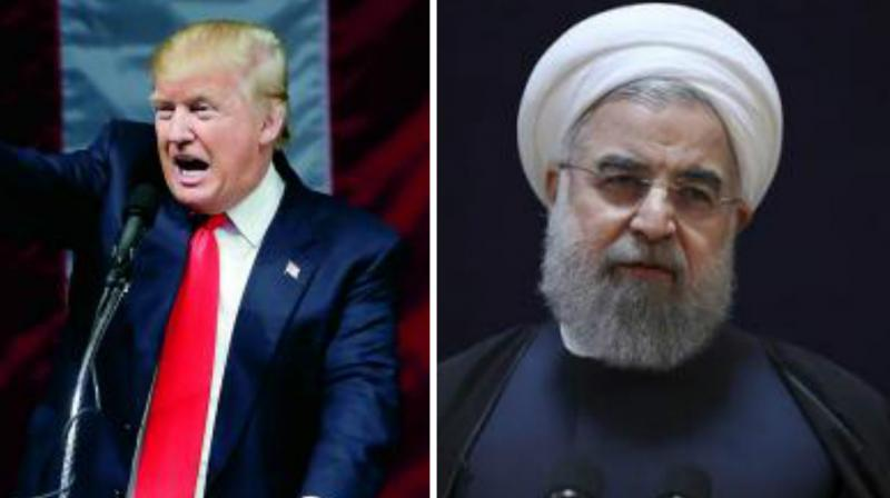 US President Donald Trump and Iran President Hassan Rouhani. (Photo: AP)