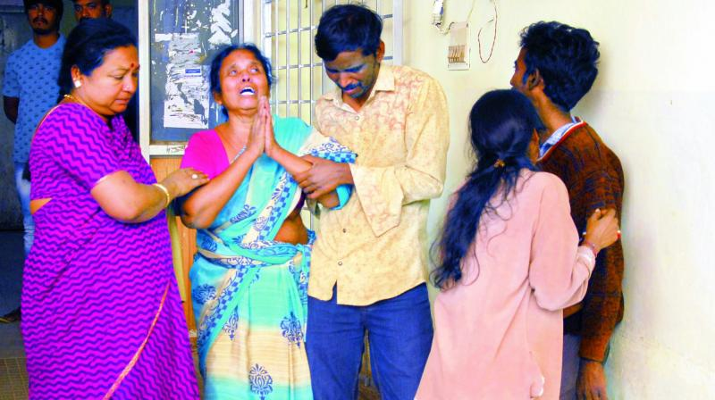 Woman allegedly set ablaze in Lalaguda
