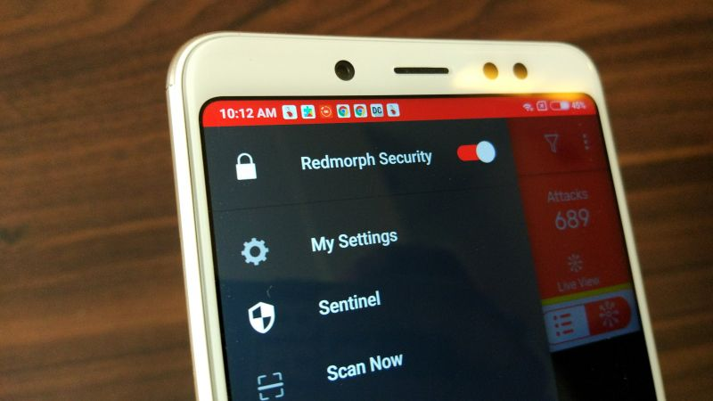 Redmorph Privacy and security solution app