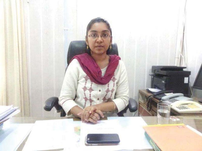 ZP CEO K. Lakshmi Priya