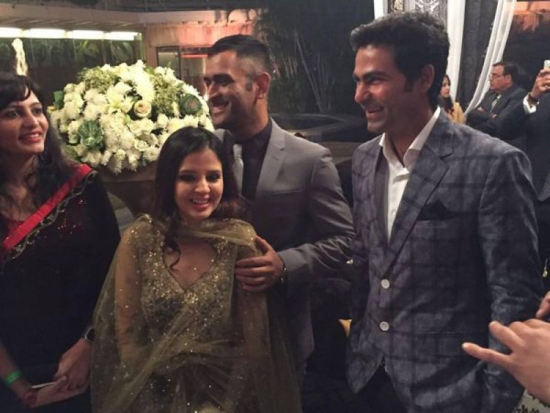 Pics Celebrities At Yuvraj Singh Hazel Keechs Wedding Reception