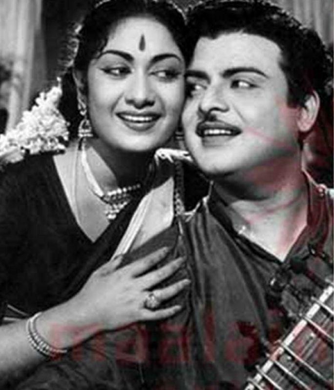 Savitri and Gemini Ganeshan