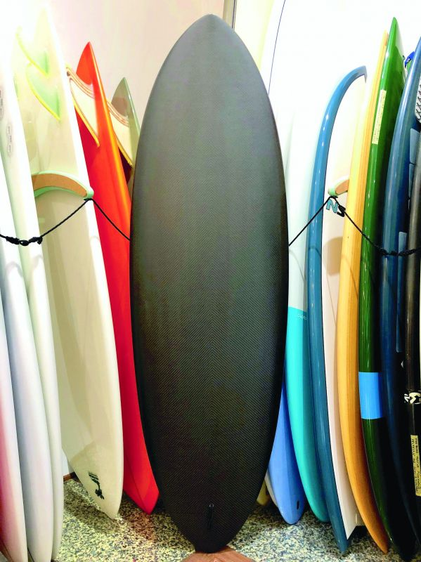 Furrow Surfcraft hand-shaped board