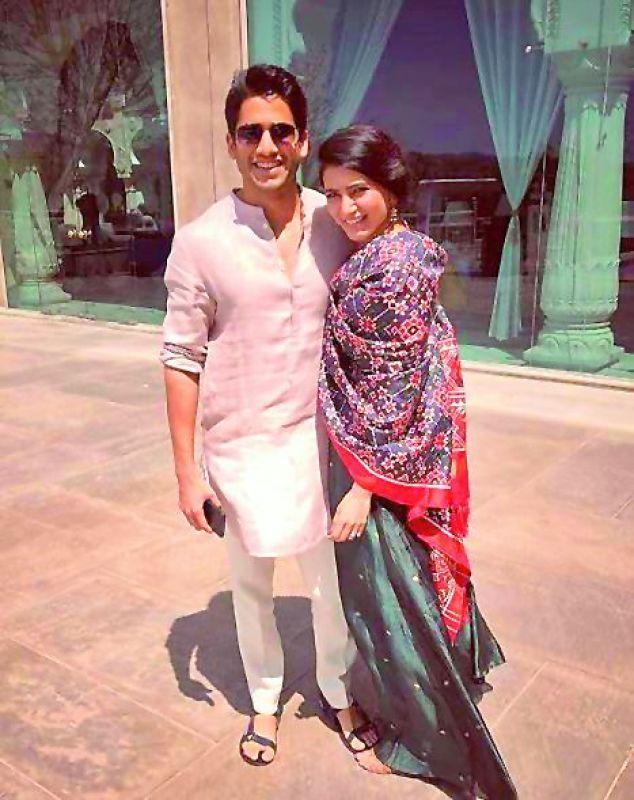 Naga Chaitanya and Samantha.