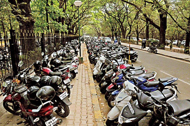 Bengaluru stalled: Parking hogs city roads