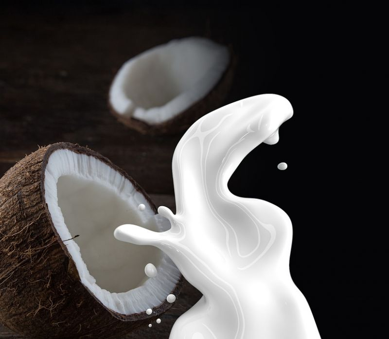 Coconut milk is often used in curries to give it a thick, creamy texture. (Photo: representational/Pixabay)