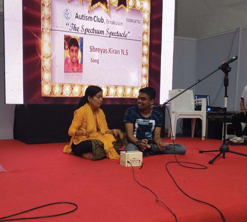 Sreyas Kiran's classical music performance