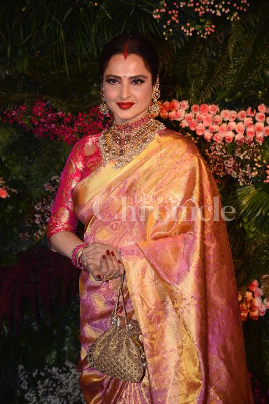Image result for rekha anushka wedding