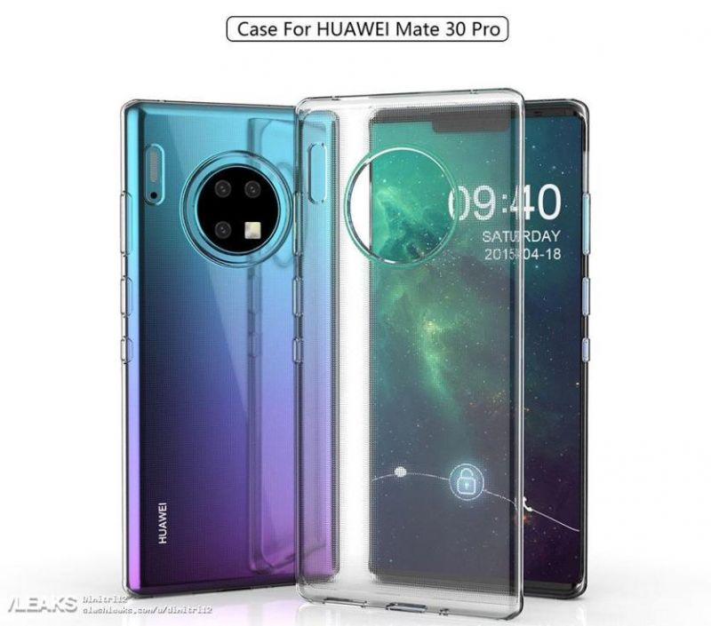 Huawei Mate 30 Pro leaked