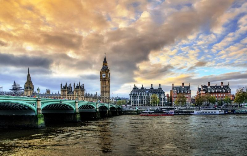 The Palace of Westminster, which houses the Parliament of the United Kingdom, on the north bank of the River Thames in the City of Westminster, in central London.
