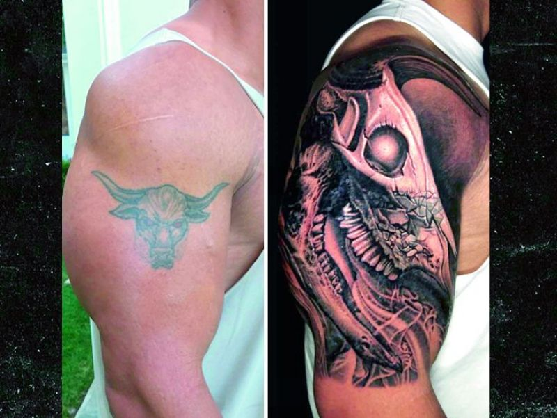 Rocks Iconic Tattoo Modified