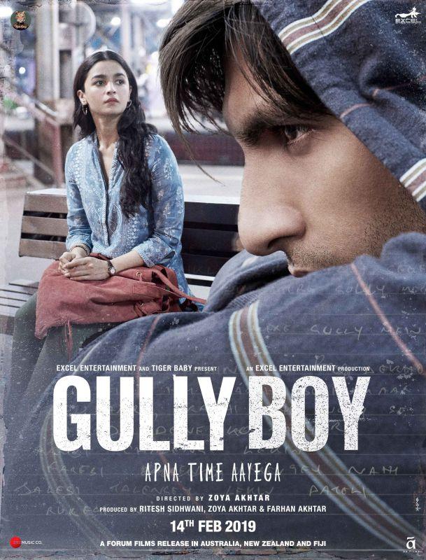 'Gully Boy' poster.