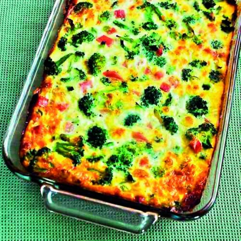 Beans and Broccoli casserole