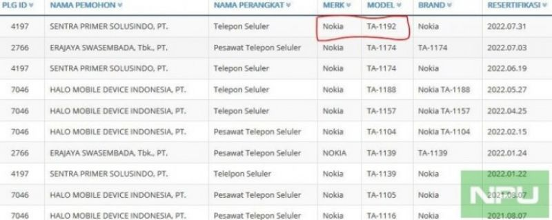 Nokia 6.2/7.2 spotted