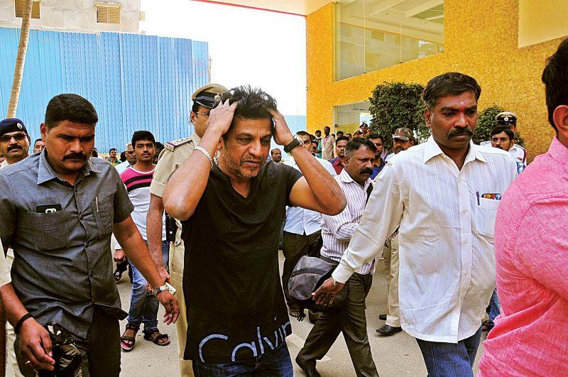 Kannada actors Shivraj Kumar