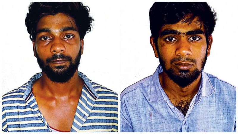 Saravanan and Ghouse Basha aka Riaz were arrested on Friday.