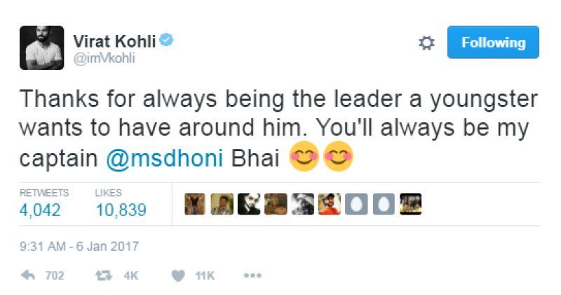 Virat Kohli, MS Dhoni, Team India