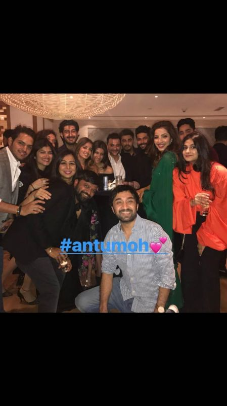 Mohit's other cousin Rhea Kapoor and Shraddha Kapoor's brother Siddhanth were among those present during the celebrations. Sonam posted Instagram stories from the evening, but was not snapped.
