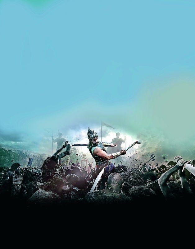 Epic proportions: S.S. Rajamouli's Baahubali was  praised for raising the level of VFX in the Indian film industry.