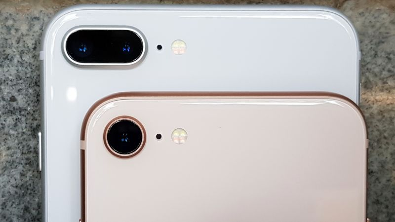 Apple iPhone 8, 8 Plus product shots