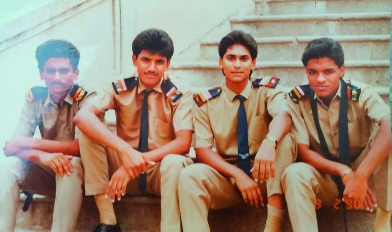 Photos shared by Y. S. Jagan Mohan's friends Vara Prasad and Vinay  Kotimreddy