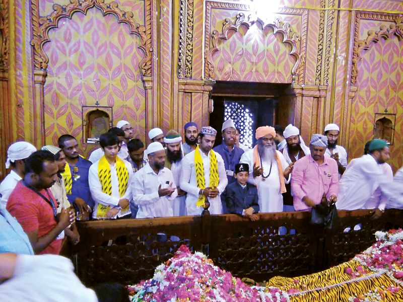 In 2013, Ali's wedding took place at the tomb, reviving a long-lost family tradition after over 200 years. That's when he first encountered the riptide of communal forces operating in the area.