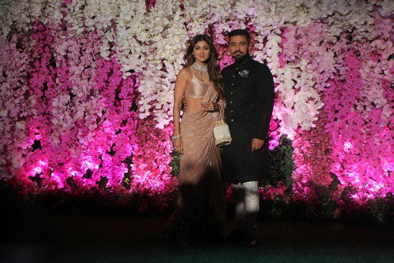 Shilpa Shetty Kundra with husband Raj Kundra. (Photo Courtesy: Mrugesh Bandiwadekar)