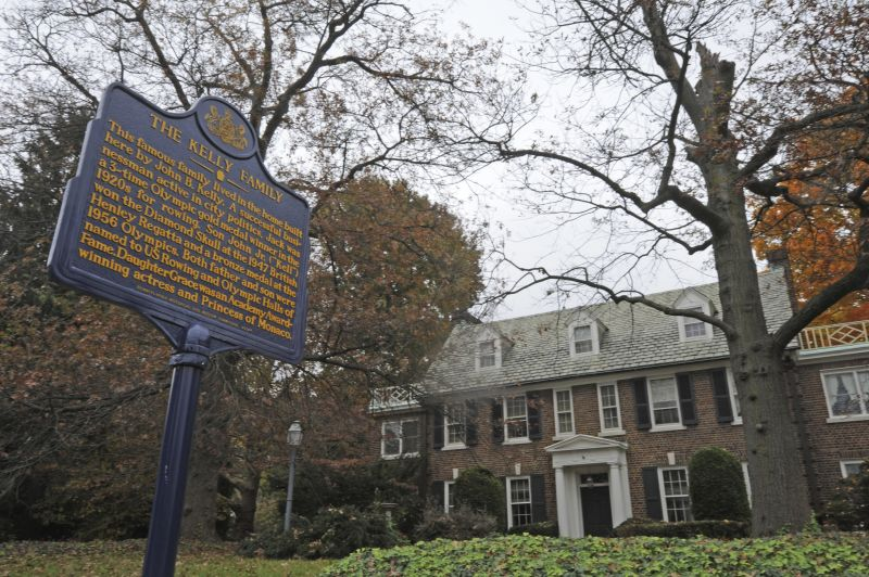 The Philadelphia home where Oscar-winning actress Kelly grew up and accepted a marriage proposal from Prince Rainier III of Monaco in 1955 is now in the hands of the royal family.