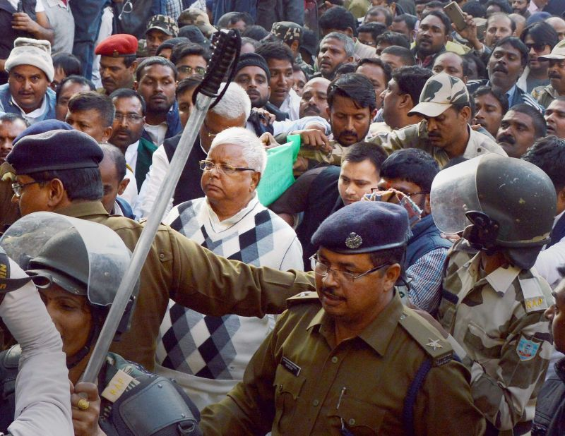 Former Bihar CM Lalu Yadav and 15 other convicted. (Photo: PTI)