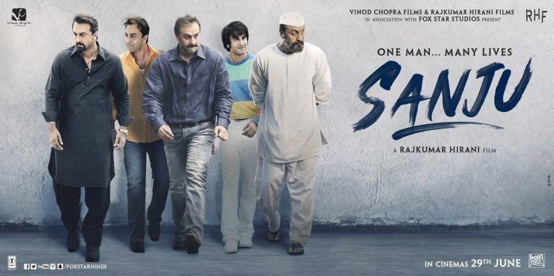 Sanju first poster