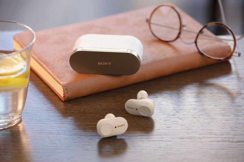 Sony true wireless earbuds