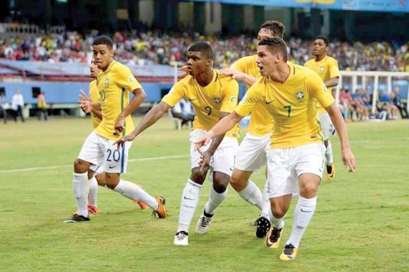 The Brazilian team