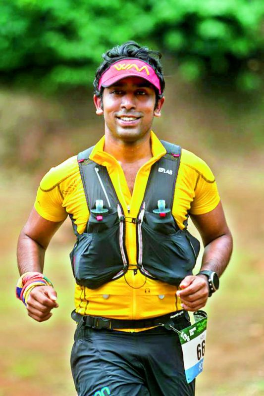 Ashok Daniel, first Indian to complete the Tor Des Geants race.