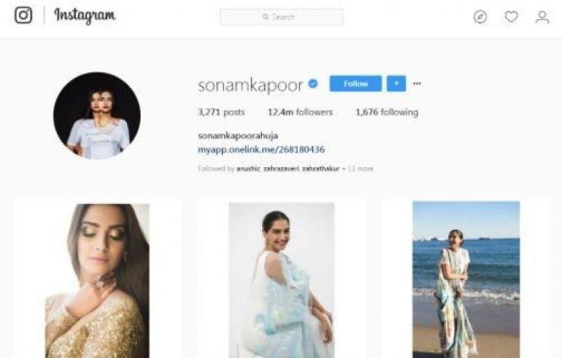 Sonam Kapoor is now Sonam Kapoor Ahuja.