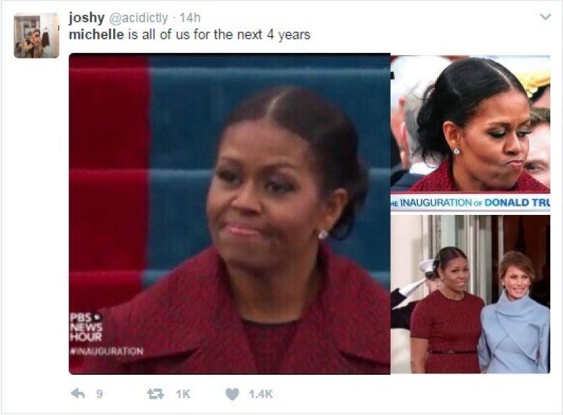 Michelle Obama inaugration