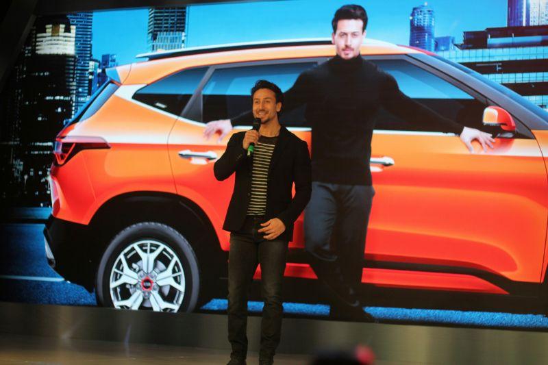 Bollywood Actor Tiger Shroff is also the Brand Ambassador for KIA Motors in Mumbai. (Photo: Mrugesh Bandiwadekar)