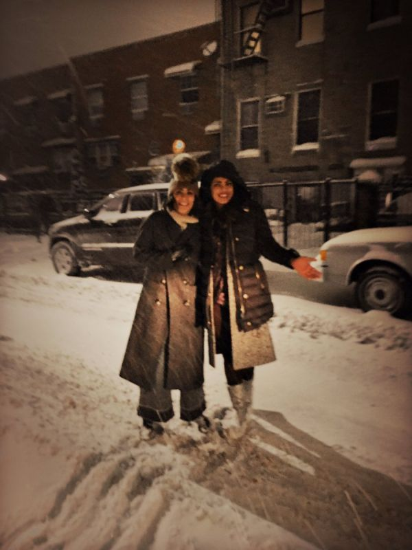 Pictures: Priyanka is loving the snowy weather while shooting for Quantico