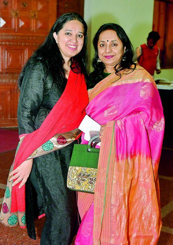 Anjani Shah and Vandana Seth