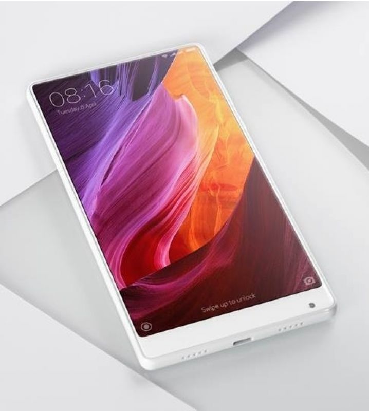White version of Mi Mix smartphone