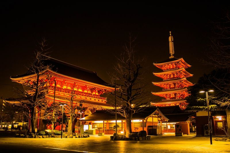This is the city's oldest Buddhist temple. (Photo: Pixabay)