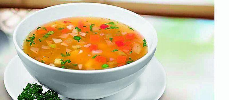 Coriander oats soup
